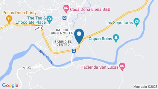 HOTEL CAMINO MAYA CIUDAD BLANCA Map
