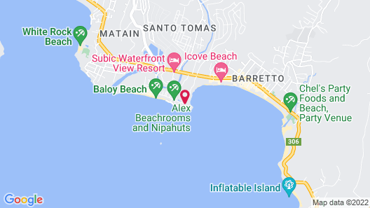 Blue Rock Beach Resort Map