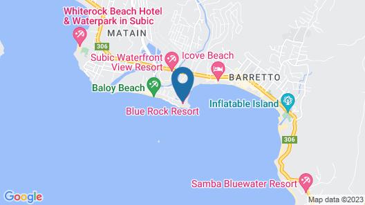 Blue Rock Beach Resort Map