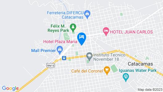 Hotel Plaza Maria Map