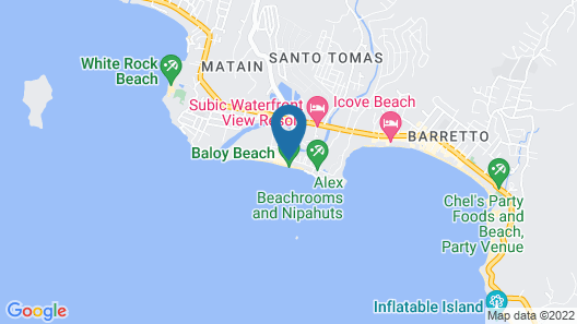 Johan's Beach Resort Apartment Map