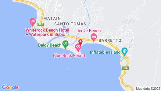 Mangrove Resort Hotel Map