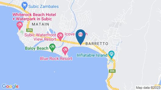 iCove Beach Hotel Map