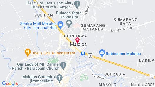 ZEN Rooms Green Ville Bulacan Map