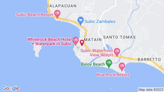 Whiterock Beach Hotel + Waterpark Map
