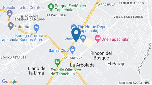 City Express Tapachula Map