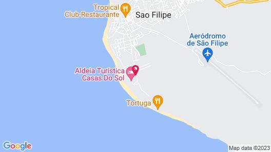 Casas Do Sol Map