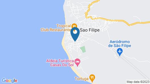 Hotel Santos Pina  Map