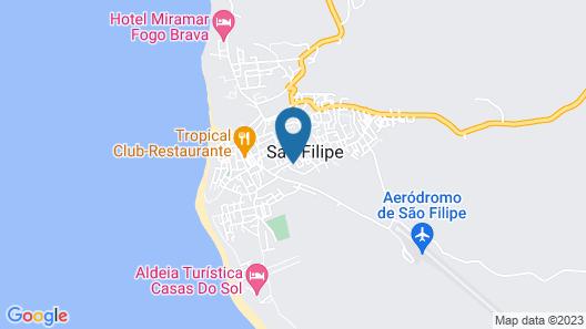Pensão Motel Sodade Map