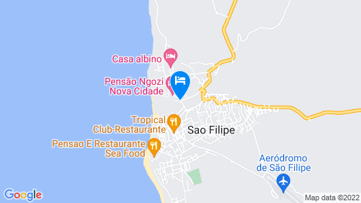 Hotel Xaguate Map