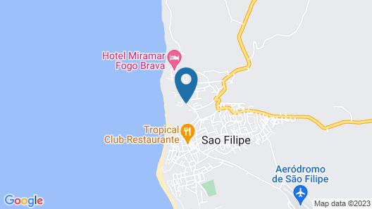 Pensão Ngozi Nova Cidade Map
