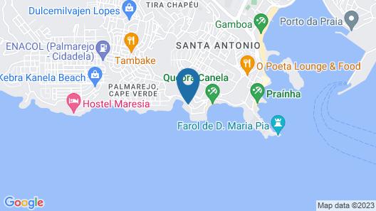 Hotel Vip Praia Map