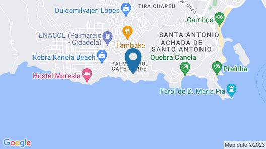 Apartamento OZ Map