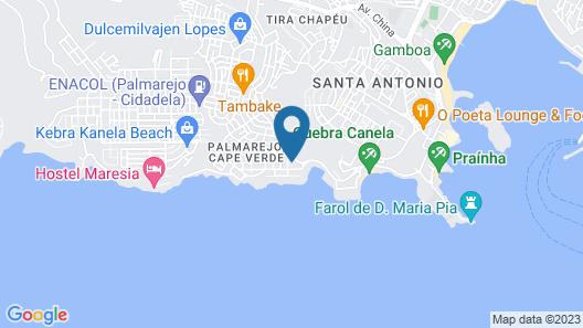 Apartments Praia Palmarejo Baixo Map