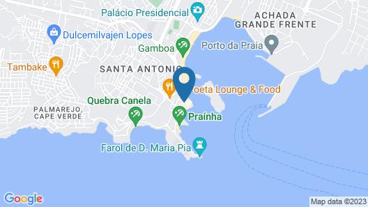 Boutique Hotel Pescador Map