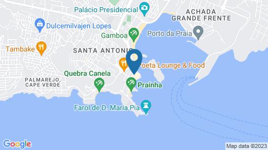 Pestana Trópico Map