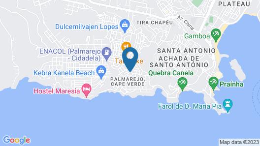 Villa Triplex Sodade Map
