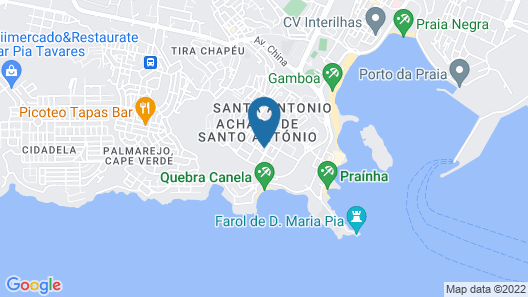 Praiadise Hostel Map