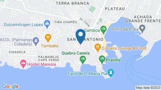 Hotel Santiago Map