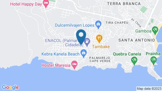 Hostel Casa Branca Map