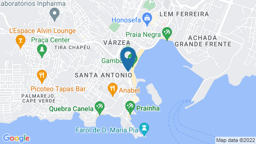 Hotel Pérola Map