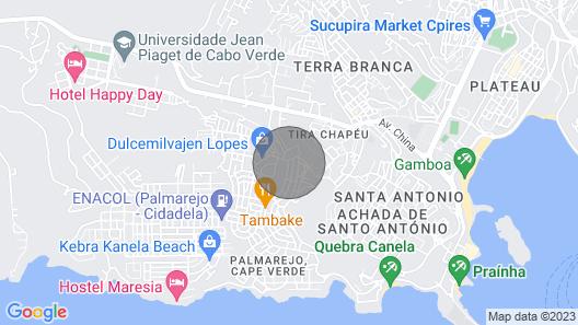 Luxury Apartment 1, Praia, Cape Verde Map