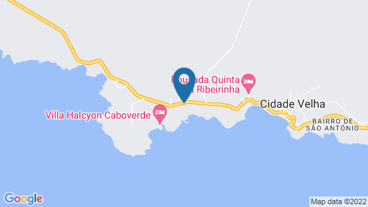 Hotel Vulcão Map