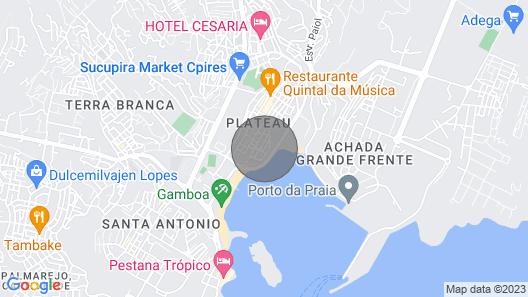 City Center Luxurious Studio Map