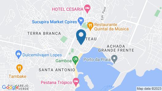 Praia Confort Map