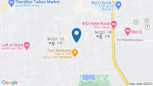 Pakjai Resort Korat Map