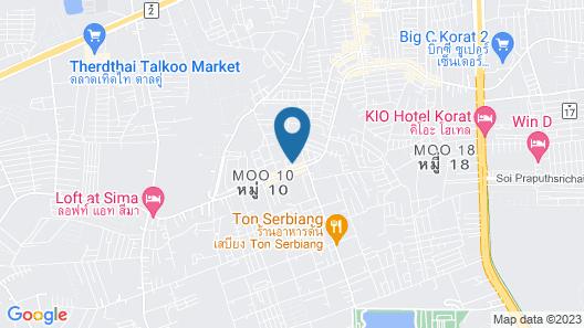 OYO 894  Pakdee Resort2 Map
