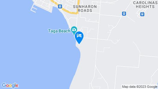 Tinian Ocean View Hotel Map