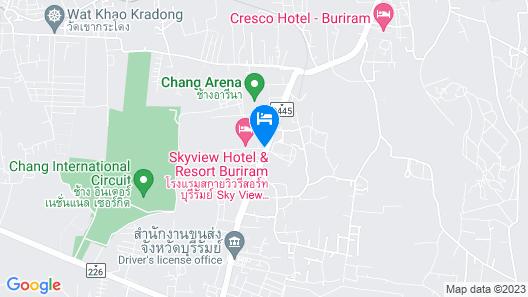 Sky View Resort Buriram Map