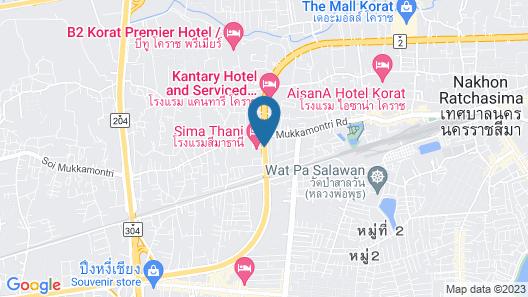 Sima Thani Hotel Map