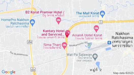 Kantary Hotel Korat Map