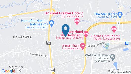 Koranaree Courtyard Boutique Hotel Map