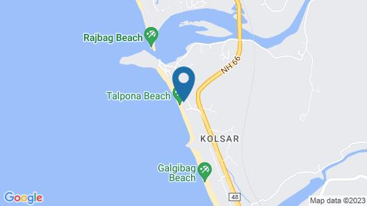 Peace Garden Goa Map