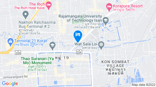 Villa Sittiprapa Map