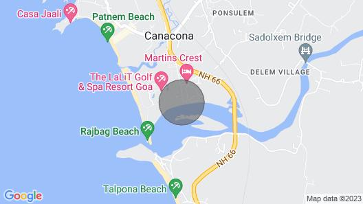 OYO 43492 Pereira Bliss Map