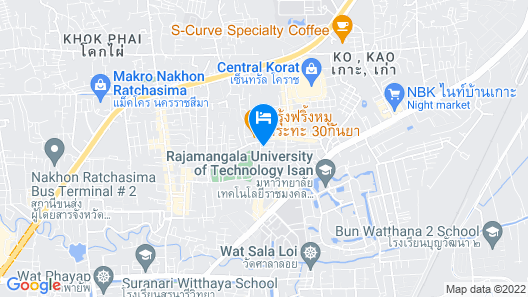 Kun Hostel Map