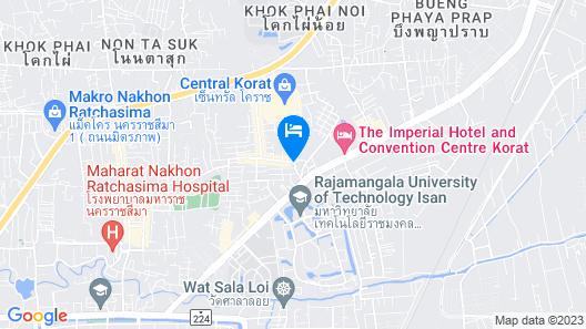 Baan Trishawar Khaoyai Map