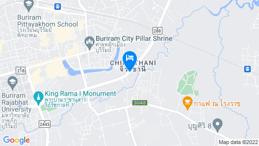 The Zell Budget Hotel Buriam Map