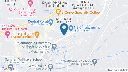 The Imperial Hotel & Convention Centre Korat Map