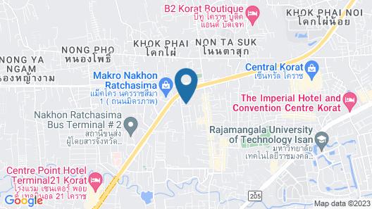 Zenith Residence Hotel Map