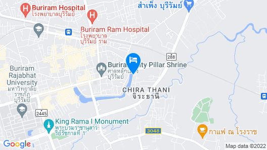 B2 Buriram Boutique & Budget Hotel Map
