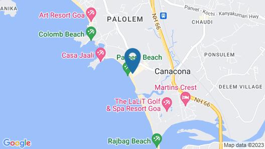Casa Fiesta Map