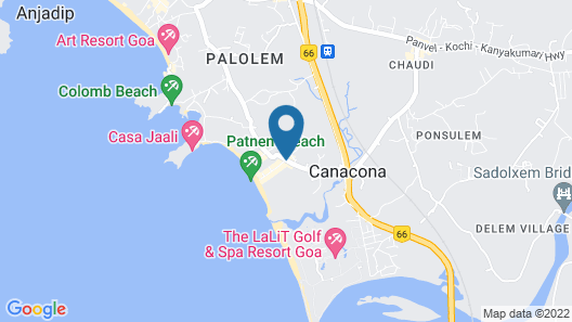 Sea View Resort Map