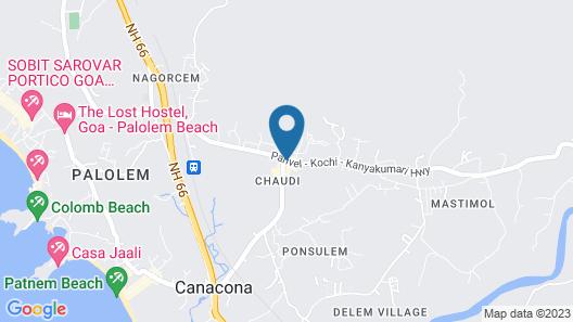 Mesa Hospitality Map
