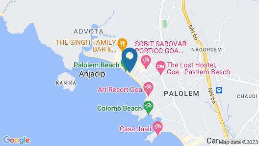 Neptune Point Beach Resort Map