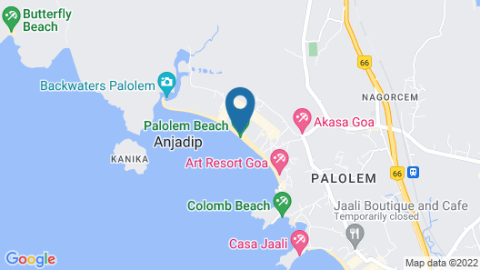Cafe Del Mar Map